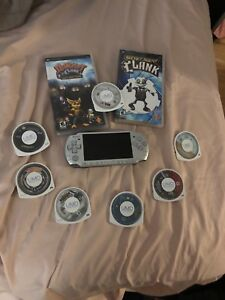 PSP 3000 with 9 games