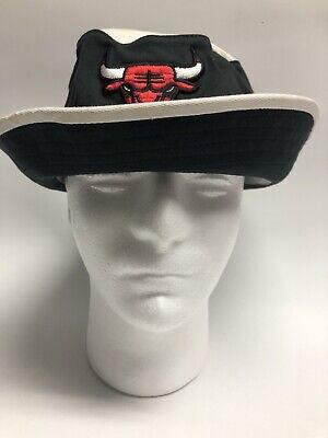 Chicago Bulls Mitchell & Ness NBA Hardwood Classics Bucket Hat Black L / XL