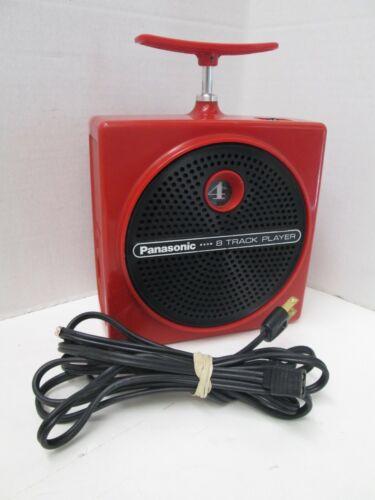 Panasonic RQ-830S Dynamite TNT 8 Track Player (REFURBISHED)- Works Great!
