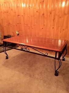 Coffe table + 2 side tables