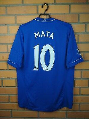 96c946da1b8 Mata Chelsea jersey large 2012 2013 home shirt X23745 soccer football Adidas