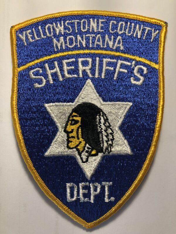 Vintage Yellowstone Montana Sheriff Patch
