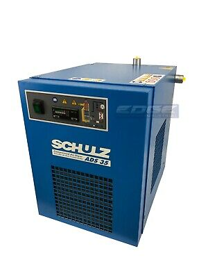 Schulz 35 Cfm Refrigerated Compressed Air Dryer 7.5hp 10hp Compressors 115v