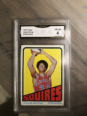 julius erving rookie card GMA 4