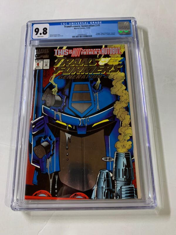 Transformers Generation 2 # 1 Cgc 9.8 Newsstand Edition Very Rare Marvel