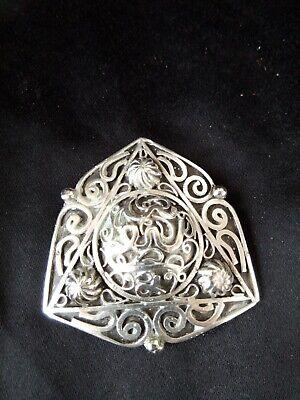 Antique brooch berber silver