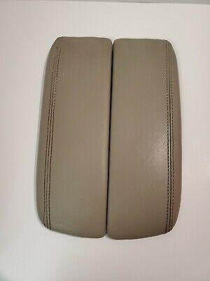 2005-2008 Acura RL Center Console Lid Armrest Lids Left & Right Tan Beige OEM