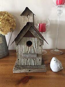 Ray Herres rustic birdhouse