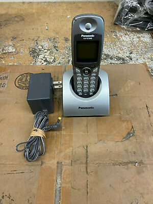 Panasonic Kx-t7885 900mhz Wireless Phone Black