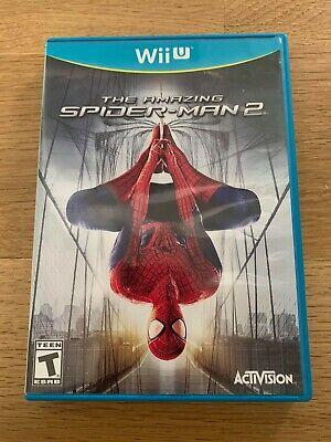 The Amazing Spider-Man 2 (Nintendo Wii U, 2014) Game & Case