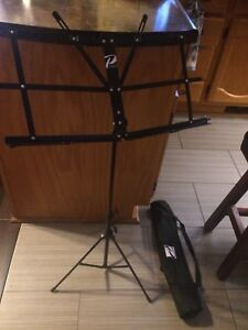 Music stand and carry case