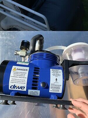 Devilbiss 18600 Drive Medical Heavy Duty Suction Machine