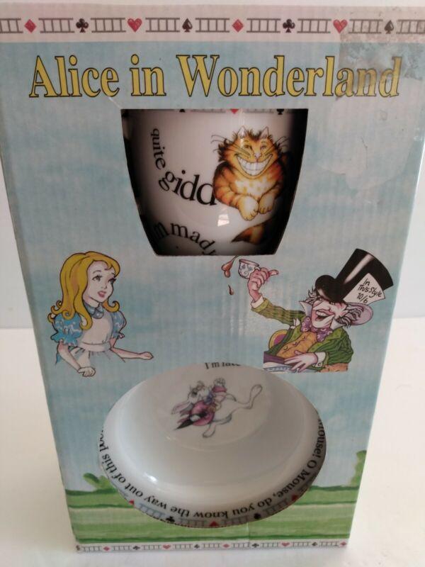 Alice in Wonderland Cardew Designs 2 Piece Baby Set Baby Bowl BabyCup