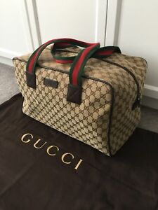 Authentic Gucci Duffle-Style Bag
