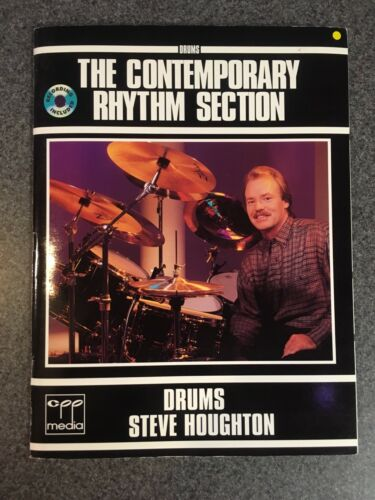 Drums The Contemporary Rhythm Section - Steve Houghton Book !