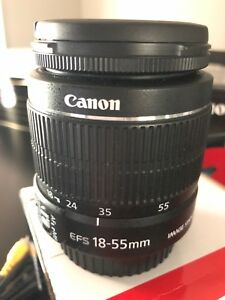 Canon 18-55mm lens with image stabilizer
