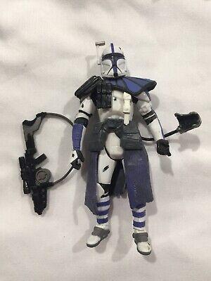 "Star Wars ARC TROOPER 3.75"" Figure Blue 501st Legion Clone Order 66 Series 2"