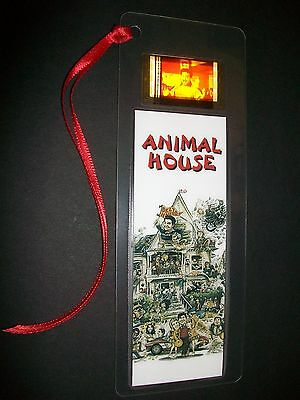 (ANIMAL HOUSE Movie Film Cell Bookmark compliments dvd poster vhs)