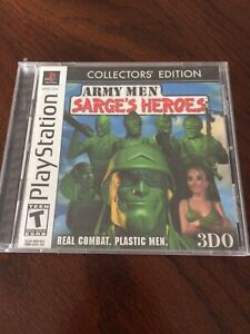 SARGES HEROES: COLLECTORS EDITION (PS1)