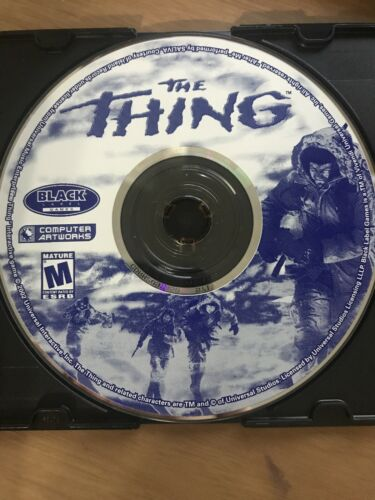 Computer Games - The Thing PC Computer Game Disc Only