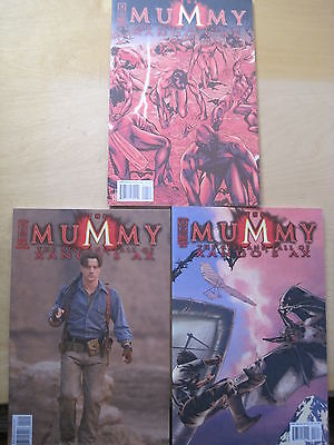 The MUMMY, The RISE & FALL of XANGO'S AX #s 2,3,4 of a 4 ISSUE SERIES. IDW.2008