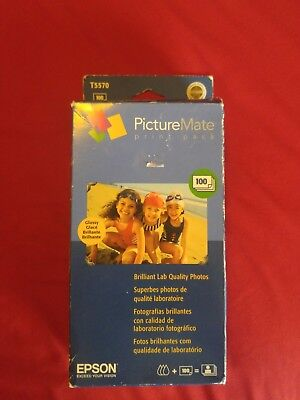 Picturemate 100 Photo Pack - Epson Picturemate 100 Print Photo Pack T5570