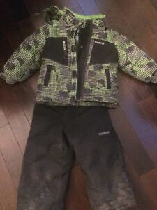 Boys 2T snowsuit