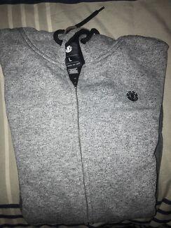 (L) Vintage Element Hoodie (Grey)