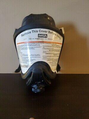 Msa Ultra Elite Respirator Mask Size Large Used Fire Firefighter