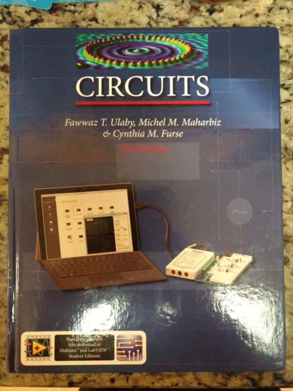 CIRCUITS, Third Edition by Fawwaz Ulabywith NI MyDAQ ( National instruments )