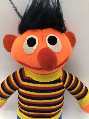 Sesame Street Ernie Plush Doll Soft Toy 10""