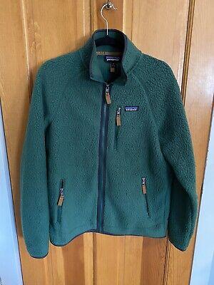 Patagonia Retro Pile Fleece Jacket - Men's Medium - Oak Grove Green