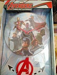 Clock Marvel Avengers Age of Ultron 3-D Pendulum Wall Clock A is the Pendulum
