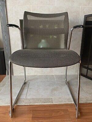 Bronze Stylex Zephyr Mesh Stacking Chair