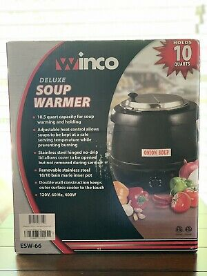 Winco Deluxe Soup Warmer