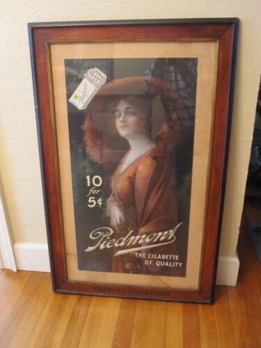 Vintage Piedmont Cigarette Tobacco Advertising Print
