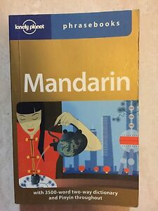 Lonely Planet Mandarin phrase book South Hurstville Kogarah Area Preview