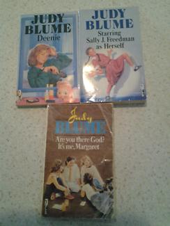 3 x Judy Blume Books