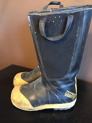 Firewalker Ranger Firefighter Turnout Shoe-fit Boots Size 9.5 Wide Mens