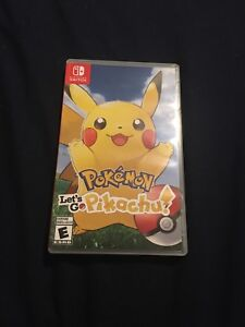 Nintendo switch: Pokémon let's go Pikachu