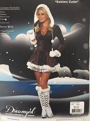 Sexy Eskimo Cutie Costume Adult - Eskimo Cutie Kostüm