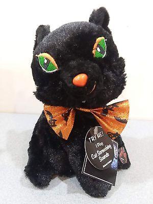 Halloween Black Cat Plush Silly & Wild Animated Dancing Swirling Screeching S...](Halloween Screeching Cat)