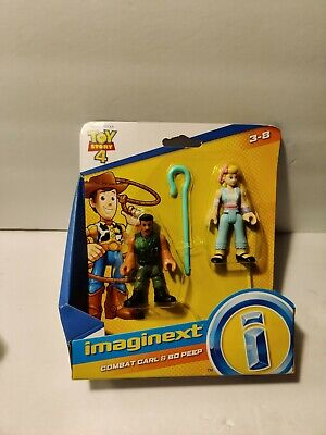 Imaginext Combat Carl Bo Peep Disney Toy Story 4 Figure Fisher Price New