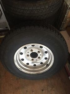 "15""Goodyear Tires on 15""Ford 5 stud alum.rims"