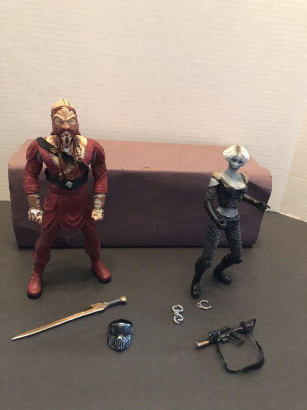 Toy Vault Farscape Drago & Chiana