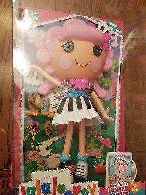 Jewel Lalaloopsy (2 Lalaloopsy Full Size Doll Charlotte, Jewel, Cherie, Keys, Strings,)