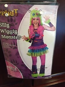 Monster costume size large youth 10-12