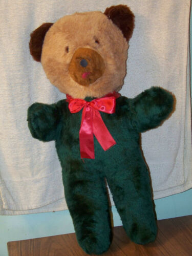 """Vintage Dollcraft Industries Teddy Bear Stuffed Toys for Tots & Teens Large 20"""""""