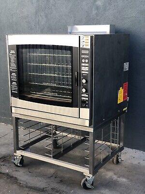Groen Combi Oven Steamer Tri Res 20g Nat Gas Restaurant Bakery Equipment Horno