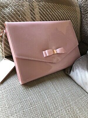 Brand New Ted Baker Pink Clutch Wristlet £35 Dust bag